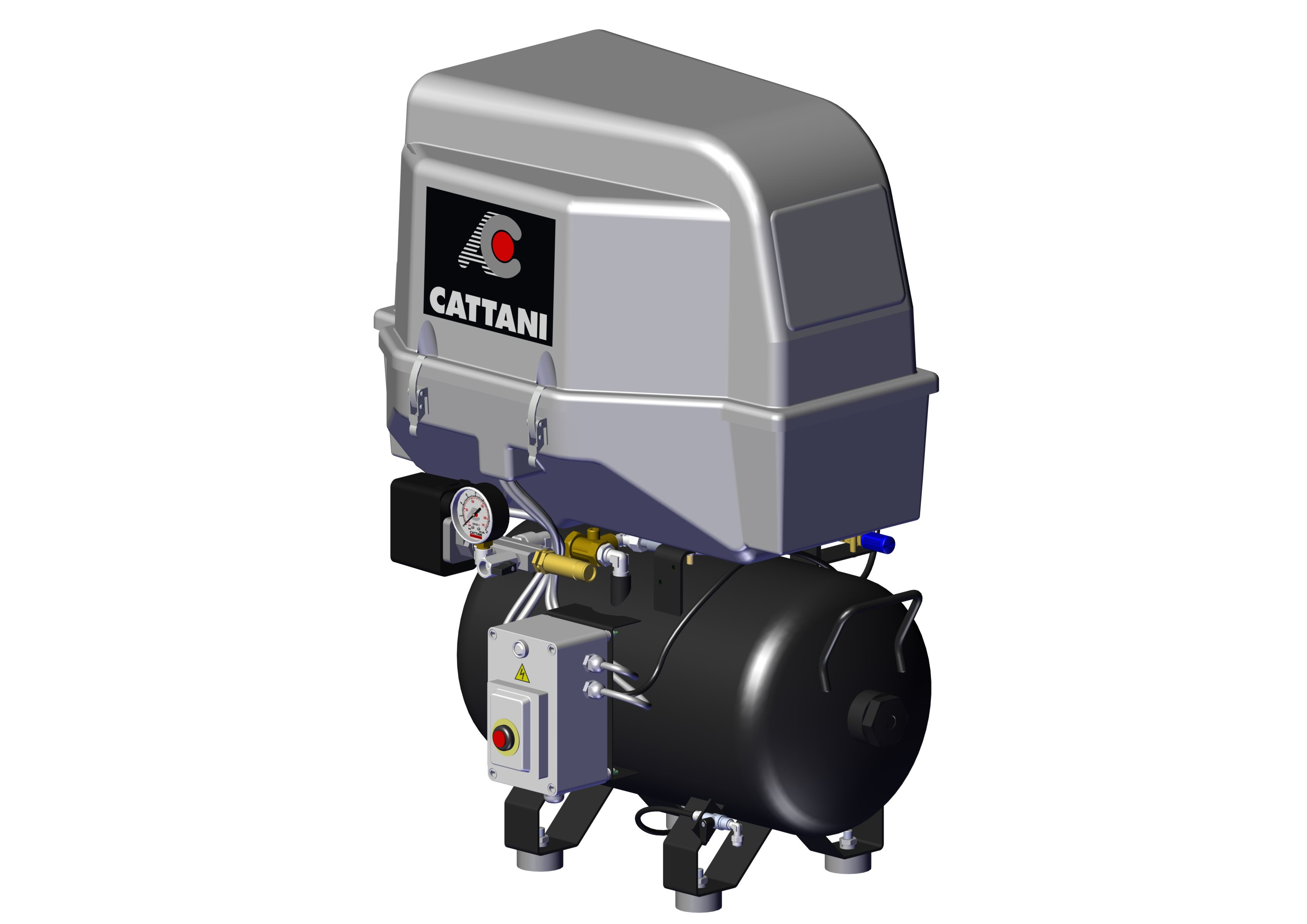 CATTANI Air Care horizontal oil-less compressors Archives