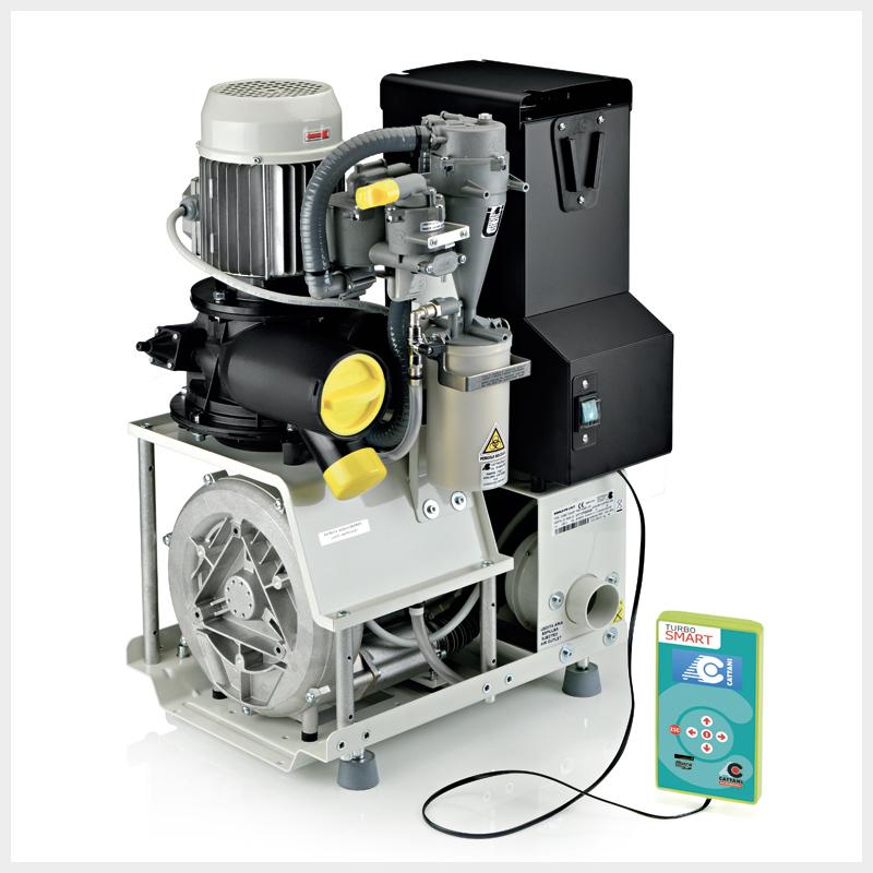 CATTANI Turbo Smart Saugmaschine, Absauganlage, Absaugung - 1